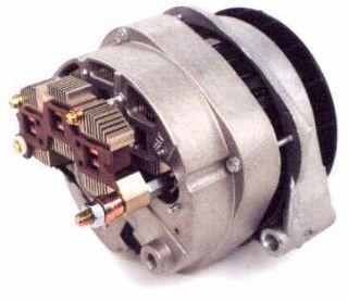 200 Amp Dual Rect CS144 Series High Output Alternator