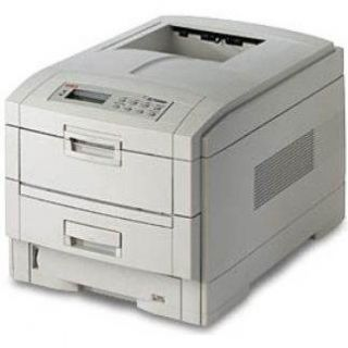 Oki C7350 Color Workgroup Laser Color Printer Networked Tested Page