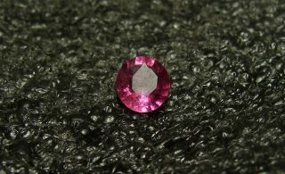 Stunning Color Natural Pink Mozambique Paraiba Tourmaline Oval 0 59ct