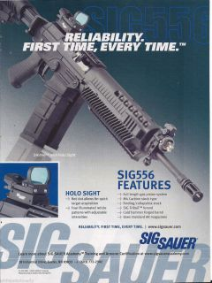Sauer Semi Automatic Rifle Ad Collectible Firearms Advertising