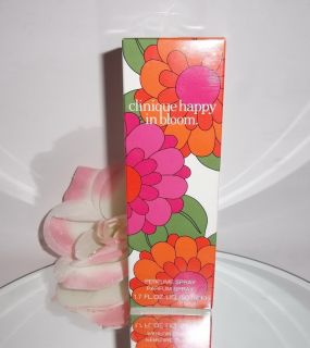 Clinique Happy In Bloom 2012 Limited Edition Perfume EDP Parfum Spray