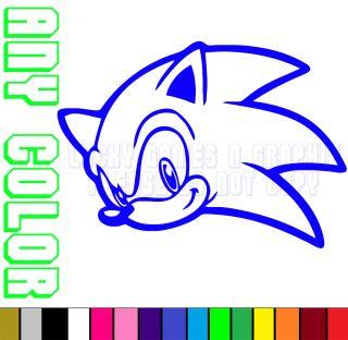 Sonic Hedgehog Arcade Sticker Decal JDM Game Car Wall Xbox Sega Any