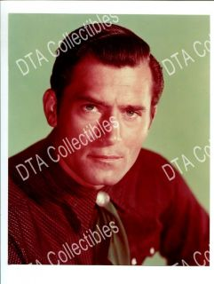 Clint Walker 1950s 8x10 Promo Still Portrait Close Up