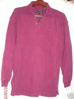 Alexander Julian Colours Burgundy Sweater L