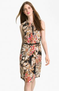 Trina Turk Haze Pleated Shift Dress