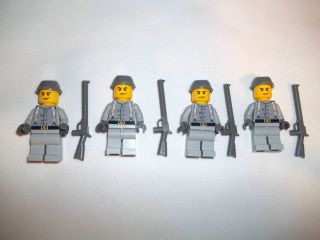 Lego Civil War Custom Confederate Cavalry Army Builder Set