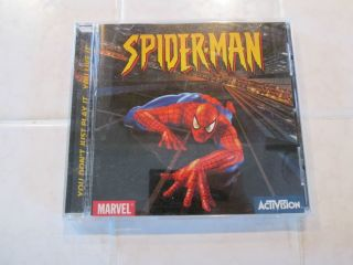 Childrens Computer Game Software Windows CD Rom SPIDER MAN SPIDERMAN