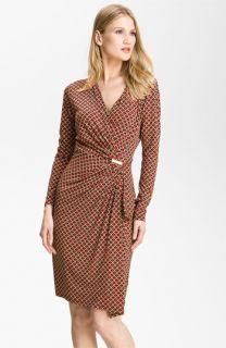 MICHAEL Michael Kors Print Faux Wrap Dress