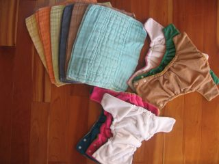 Cloth Diaper Covers and Prefolds