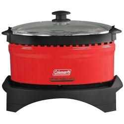 Coleman Roadtrip Slow Cooker Propane Camping Tailgating