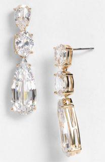 Nadri Cubic Zirconia Linear Earrings ( Exclusive)