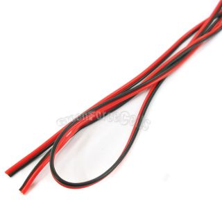 Red Black Flexible Extension Connector Cable Cord for Led Light Strip