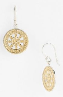 Anna Beck Lombok Small Open Dot Disc Earrings