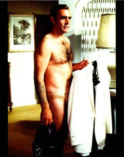 James Bond Sean Connery SHIRTLESS Photo