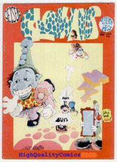 Clowns 1 VG to FN Underground 1st 1972 Dave Geiser Yahoo Bozo
