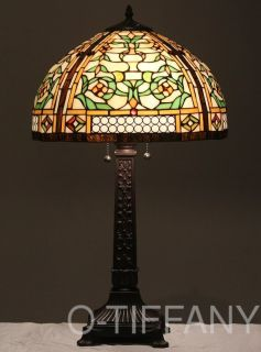 Tiffany Style Stained Glass Victorian Lamp Concerto