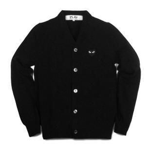Comme Des Garcons CDG Play Mens Cardigan Sweater XL