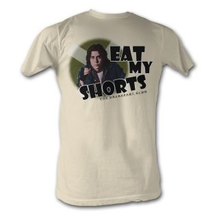 The Breakfast Club Eat My Shorts Adult Tee Shirt