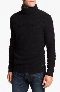 BOSS Orange Wool Turtleneck Sweater