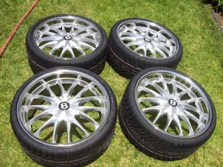 22 Bentley Continental GT GTC Flying Spur Wheels Tires CEC C863 C826