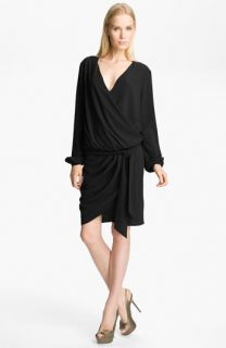 Haute Hippie Draped Wrap Dress