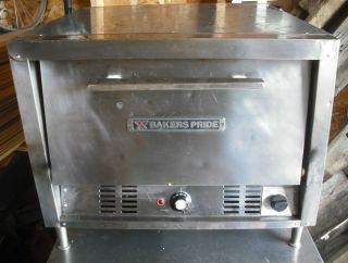 Bakers Pride P 22 Counter Top Electric Pizza Pretzel Oven P22