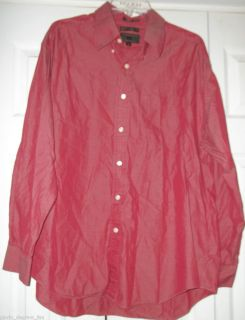 MENS SIZE XL ALEXANDER JULIAN COLOURS 80 2 PLY PINPOINT OXFORD LONG