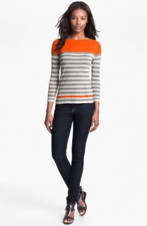 autumn cashmere Engineer Stripe Sweater