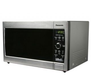 Small Countertop Microwave Dimensions : Panasonic Compact Size 0.8 Cu. Ft. Microwave Oven Stainless