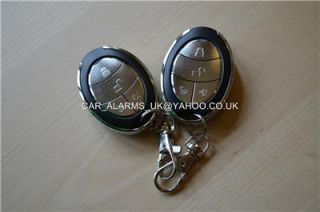car alarm immobiliser+ 4 door remote central locking kit