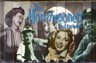 The Honeymooners Lost Episodes Collection VHS Comedy