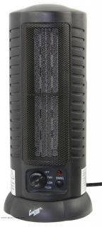CZ488 Comfort Zone Oscillating Tower Space Heater With Fan Forced