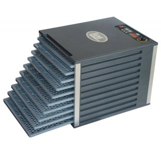 New LEM Products 10 Tray Food Dehydrator Adjustable Temperature