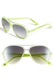 MICHAEL Michael Kors 57mm Aviator Sunglasses