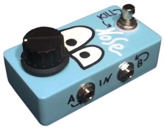 Nose Stereo Volume Pedal True Stereo with Mute Kill Switch