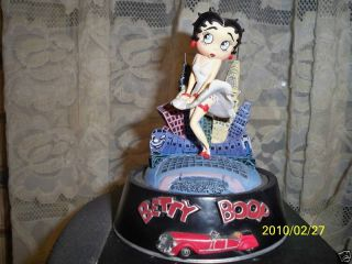 Betty Boop Cool Breeze Hand Painted Sculpture