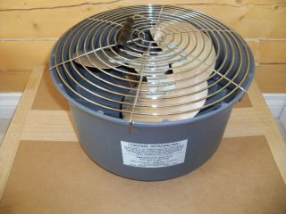 FAN use with G I space heaters commercial wood oil stoves