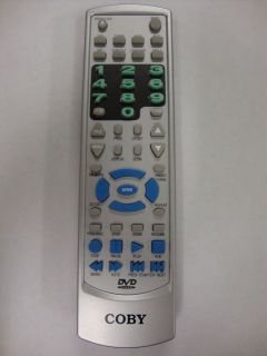 Coby DVD 925 KF 899A DVD Video Remote Control