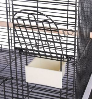 HQ Cages 701 Parrot Bird Cages 22x17x60 Dometop Small Cockatiel Cage