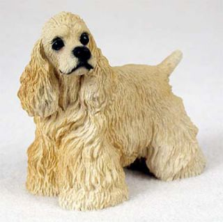 Cocker Spaniel Hand Painted Collectible Dog Figurine BL