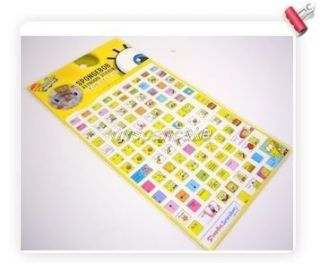 Spongebob Squarepants Computer Keyboard Stickers Cute D