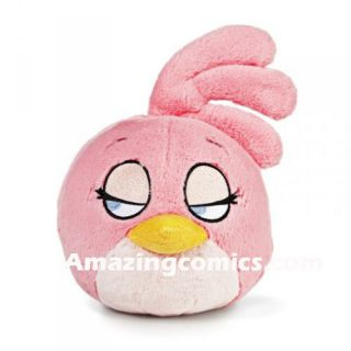 Birds 5 PINK BIRD Licensed Plush Toy with tags by Commonwealth Toys