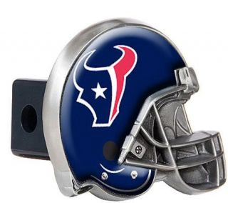 NFL Houston Texans Metal Helmet Trailer Hitch Cover —