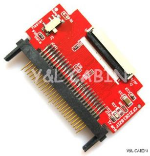 Compact Flash CF to 1 8 ZIF CE Adapter for iPod Classic