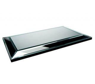 Beveled Glass Mirror Centerpiece by Valerie —