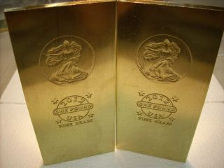 Pound lb 999 Brass Bars Bullion 2012 16 oz Bar 440 Gram Eagle lb