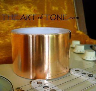 10 FEET X 50mm Roll Copper Foil Tape EMI Shielding Guitar Pedals 10ft