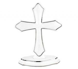 Lenox Opal Innocence Standing Cross —