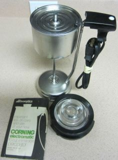 Corning Ware Electric Percolator PARTS 10 Cup Coffee Pot