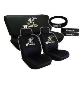 Set Daffy Sheldon Duck Looney Tunes Cartoons Complete Auto Seat Covers